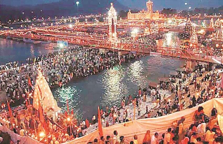 13 लाख से अधिक लोगो ने गंगा में लगाई पवित्र डुबकी