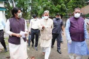 मुख्यमंत्री ने किया छावनी परिषद अस्पताल का निरीक्षण