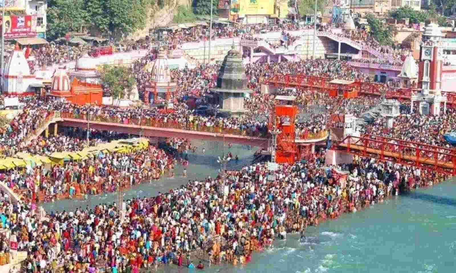 शाही स्नान में लाखों लोगों ने गंगा में लगाई डुबकी