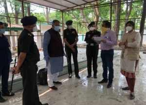 छावनी परिषद में 150 बैड के कोविड केयर सेंटर, मंत्री गणेश जोशी ने किया निरीक्षण